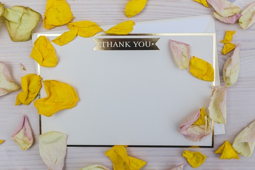 kaboompics.com_Thank you card with copy space